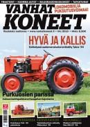 Vanhat Koneet 04/2010 kansi
