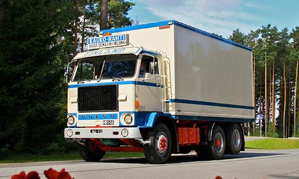 Volvo F88 '72 - Pystyhytti