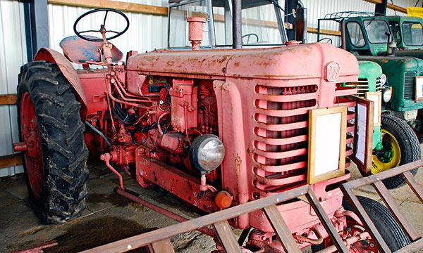 Kadonneen maan traktorit