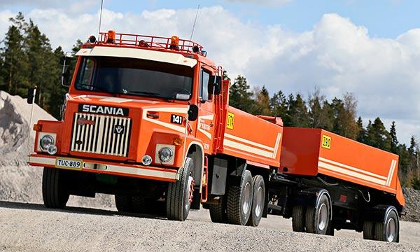 Scania LS 141 – Kasetti-kanikka