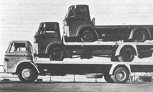 Kuorma-autot vuonna 1965