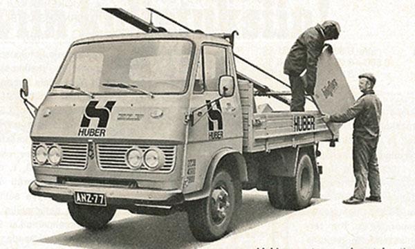 Kuorma-autoilun 70-luku alkoi ruotsalaismerkeissä