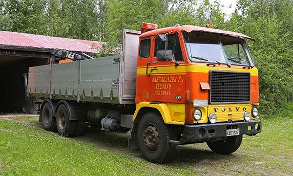 Volvo F88 1976 – Isännän luottorenki