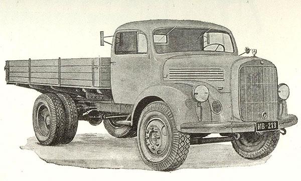 Dieseleitä kuormureihin 50-luvulla
