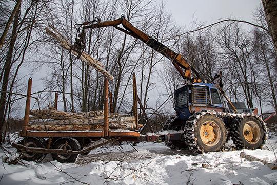 Kaksi vanhaa rankajätkää – Metsä-Marttiini ja Ford Teg